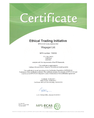 Ethical Trading Initiative Wagagai Ltd.