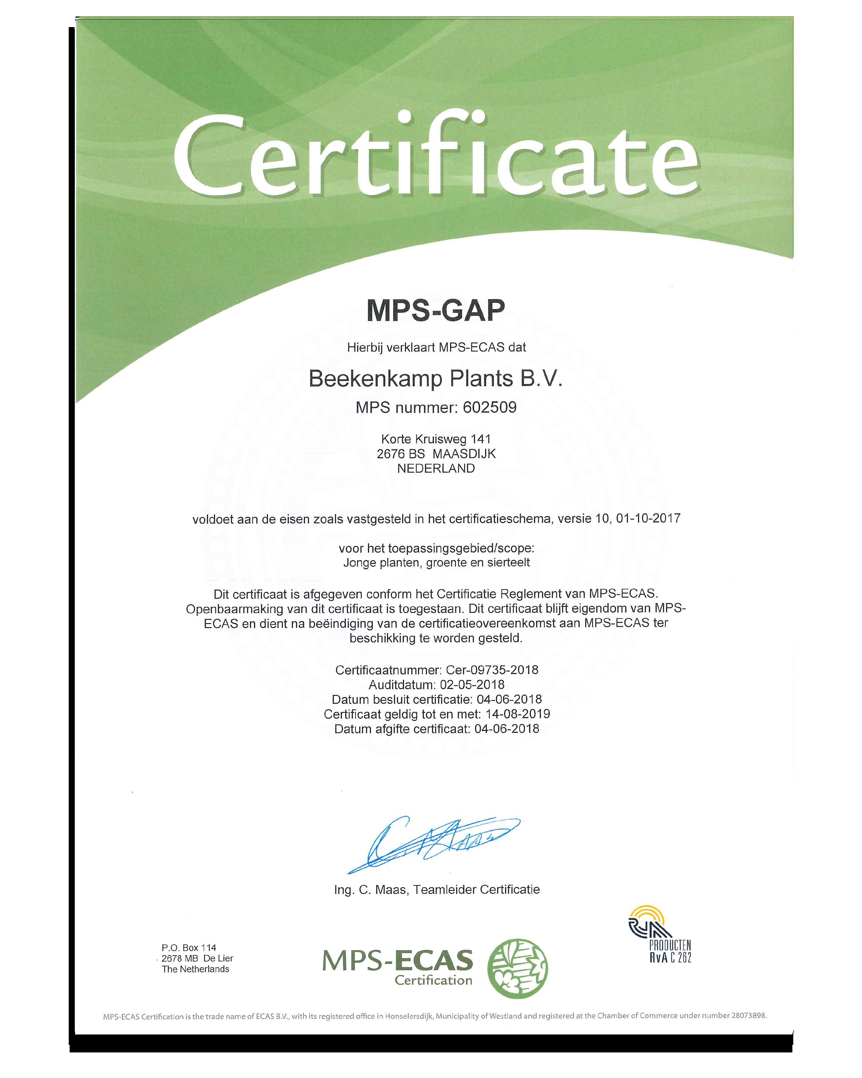 MPS-GAP