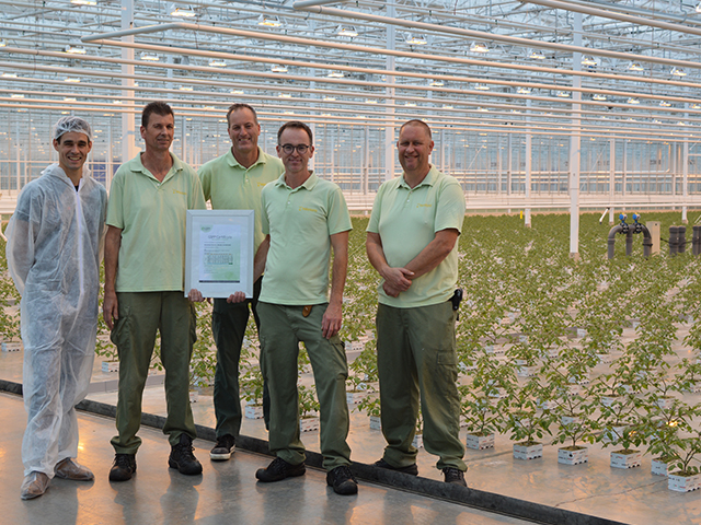 Beekenkamp Plants Trots Op Hygiënecertificering GSPP