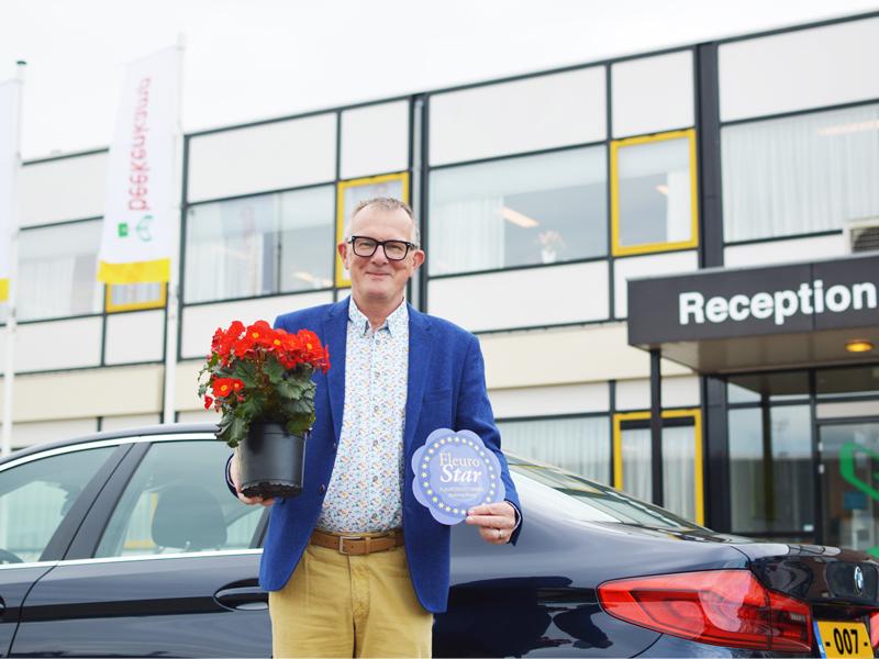 Beekenkamp Levert Fleuroselect Award Weer In