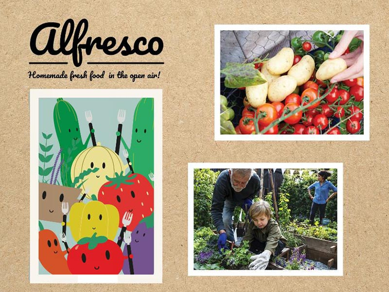 Alfresco – The New Concept For Hobby Vegetables And Herbs.