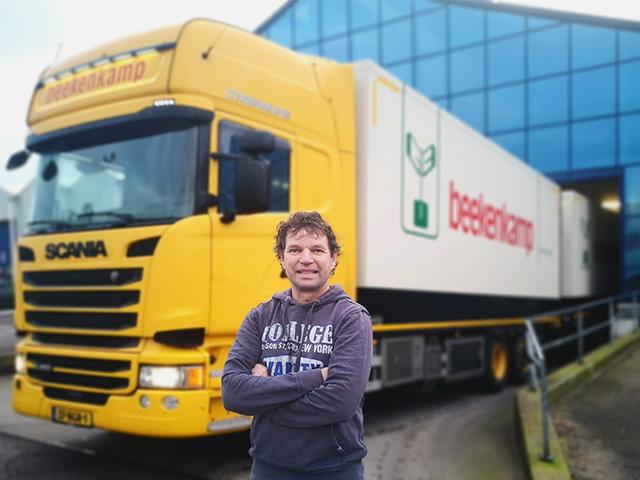 Be Beekenkamp – Eric De Boer Is Trots Op Het Feit Dat Beekenkamp Als Jonge Planten Producent 9 Eigen Vrachtwagens Heeft Rijden