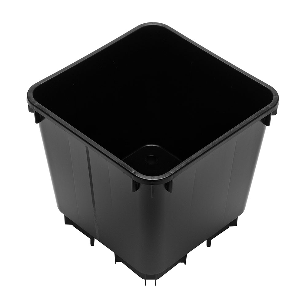 4.7 Litre Square Pot Lightweight With Extended Legs