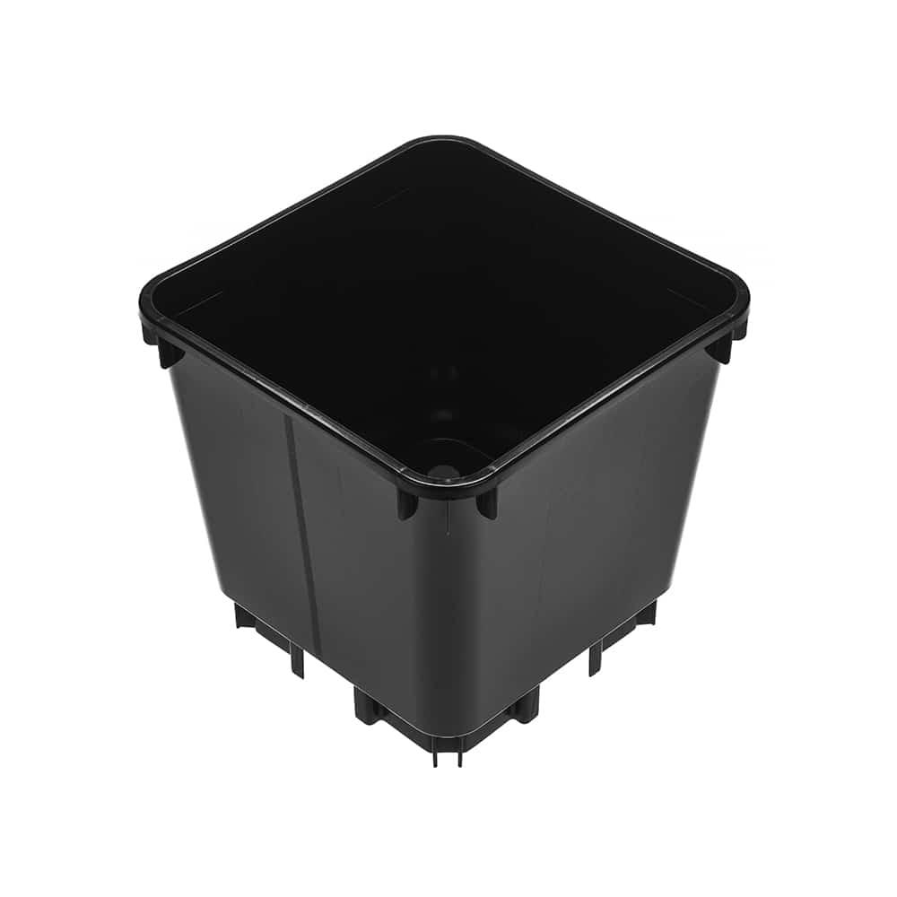 4,7 Liter Vierkante Pot Medium Met Hoge Poten