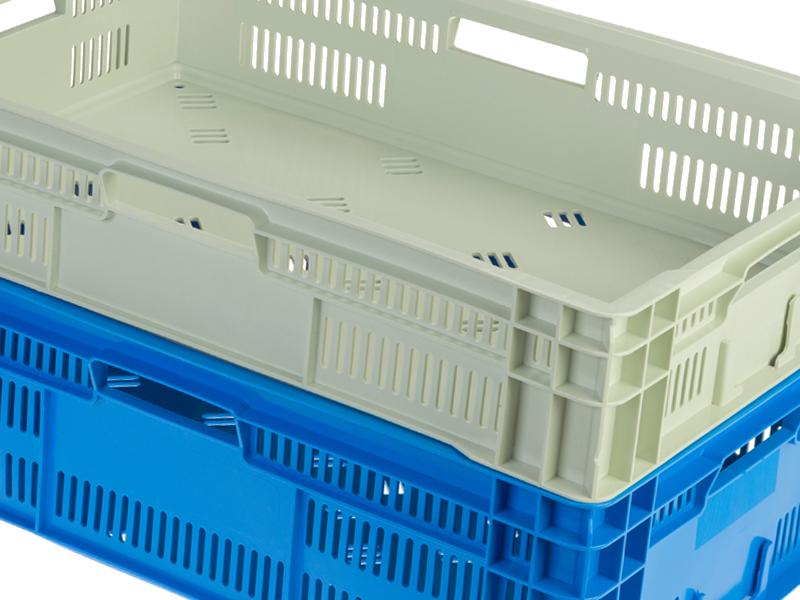 Nueva Caja De Transporte Con Base Lisa Para Todos Los Sistemas Logísticos
